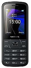 Мобильные телефон teXet TM-D229 черный