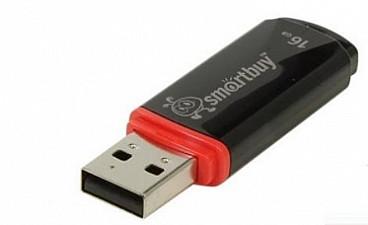 Накопитель Smartbuy Crown USB 16 Гб черный