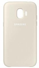 Чехол-накладка Samsung Jelly Cover EF-AJ250 для Galaxy J2 (2018) золотой