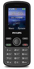 Мобильный телефон Philips Xenium E111 черный