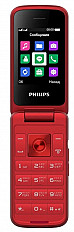 Мобильный телефон Philips Xenium E255 красный