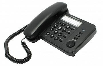 Проводной телефон Panasonic KX-TS2352RU черный