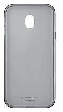 Чехол-накладка Samsung Jelly Cover EF-AJ330 для Galaxy J3 (2017) черный
