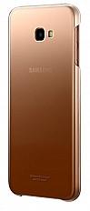 Чехол-накладка Samsung Gradation Cover EF-AJ415 для Galaxy J4 Plus золотой