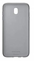 Чехол-накладка Samsung Jelly Cover EF-AJ730 для Galaxy J7 (2017) черный